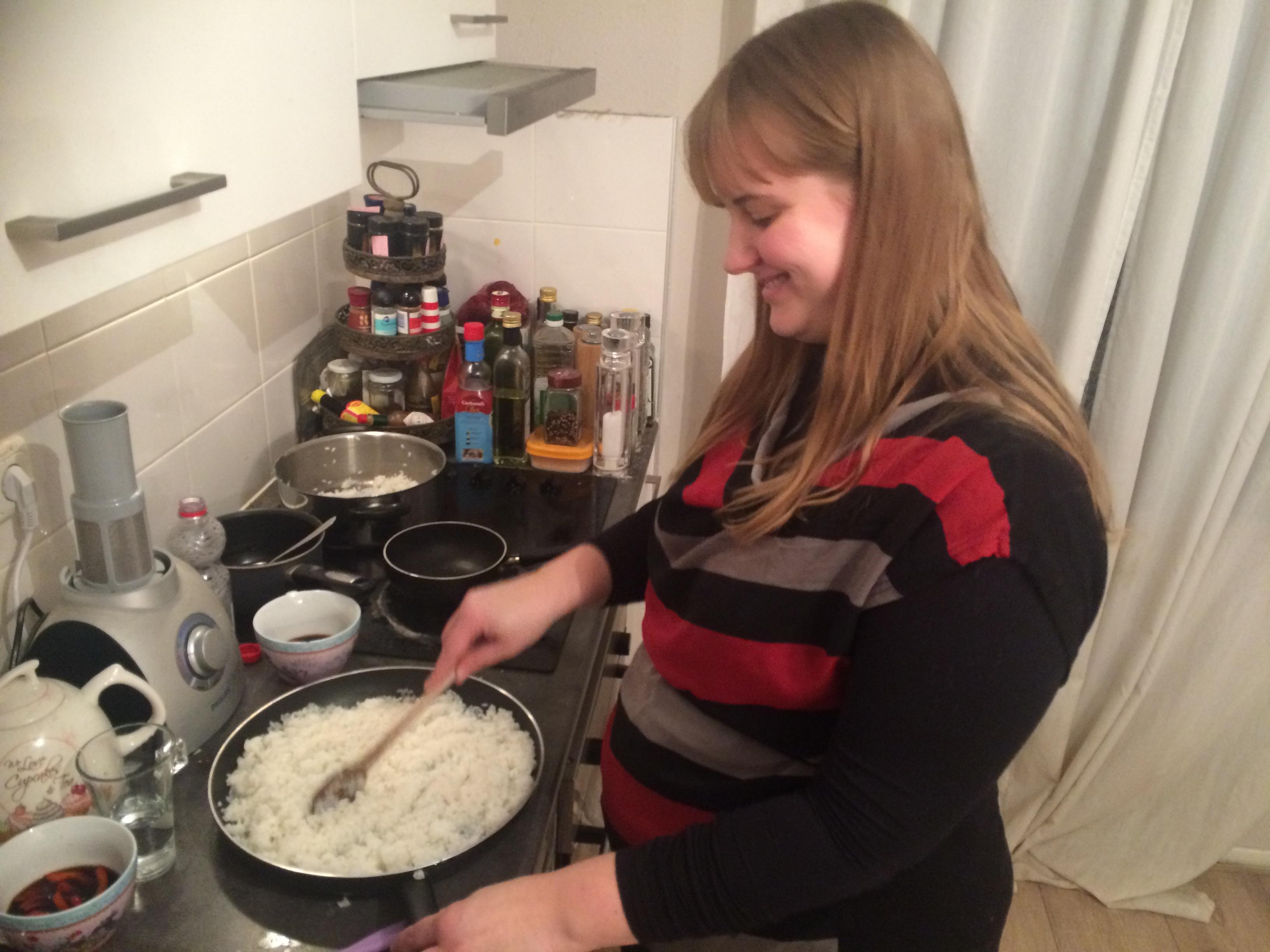 Tanya's 101 ~ Making Sushi