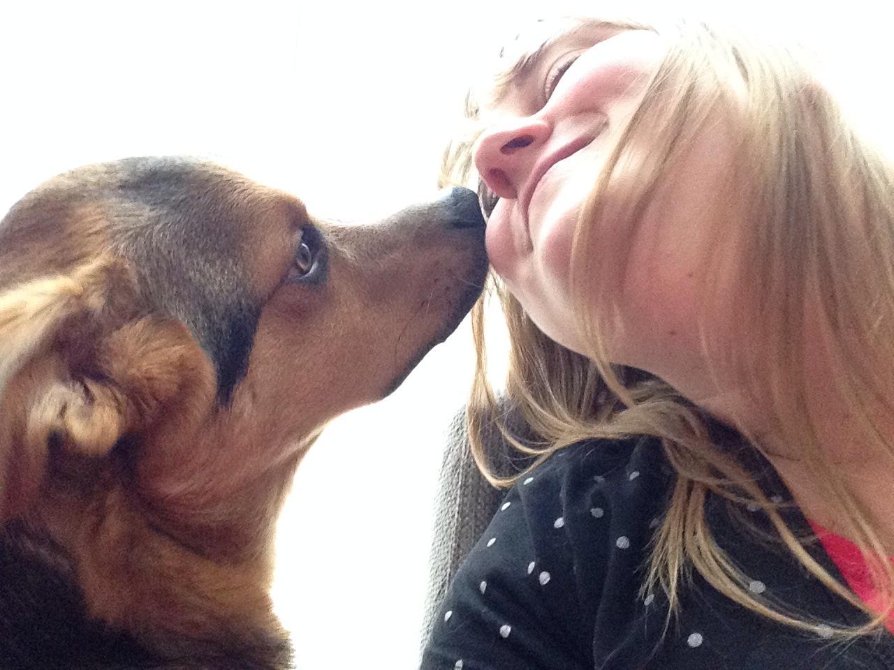 Tanya's 101 ~ Selfie no. 5 ~ Puppy Portrait