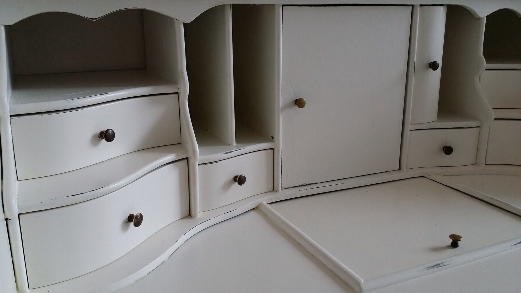 Tanya's 101 ~ Refurbishing - A Fairytale Desk | How to refurbish a secretary desk and make it your dream desk