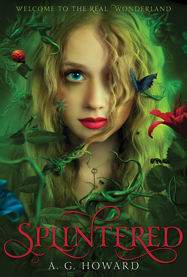 Twinkly Tanya's 101 ~ Book no. 10: Splintered (A.G. Howard) | 101 in 1001, Day Zero Project | Book Review