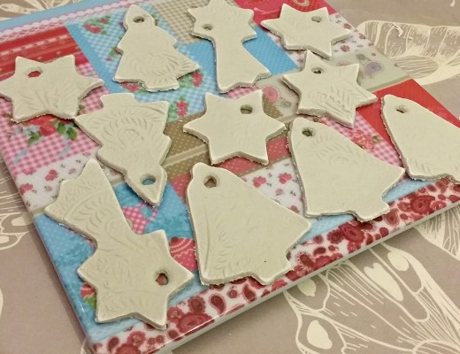 Twinkly Tanya ~ Clay Christmas Ornaments | Inspired by GardenMama