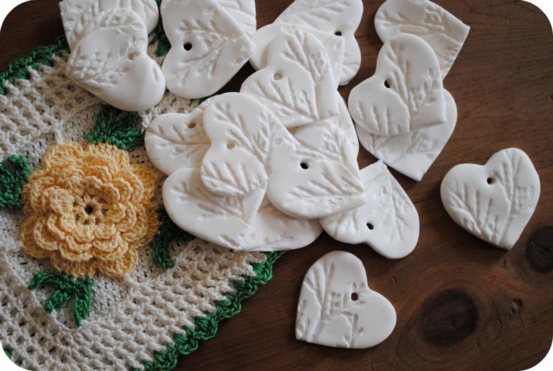 Twinkly Tanya ~ DIY Clay Christmas Ornaments | Original idea by GardenMama