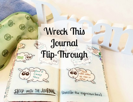 Twinkly Tanya ~ Wreck This Wednesday ~ My Wreck This Journal Flip-Through