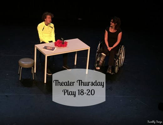 Twinkly Tanya ~ Theater Thursday ~ Plays 18-20: Truthful Acting vs. Failed Expectations | Theater Review