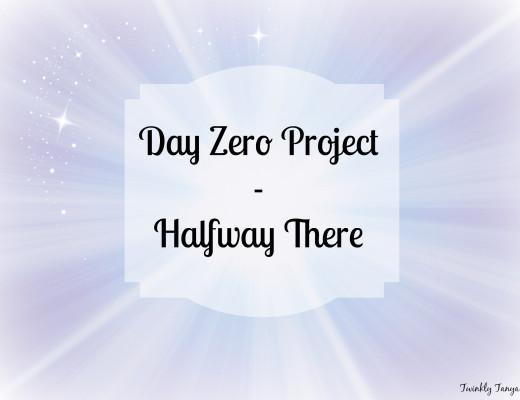 Twinkly Tanya ~ Day Zero Project Halfway | Fairytale desk | Refurbished secretary desk
